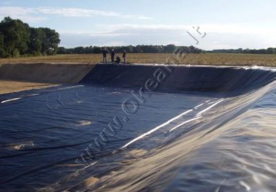 PVC ir HDPE dangų įrengimas